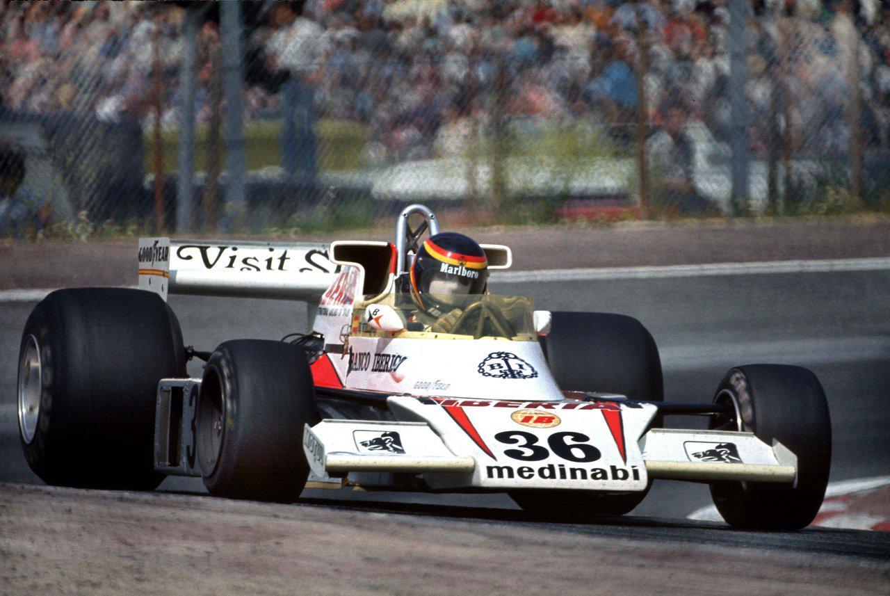 Villota McLaren M23 Jarama 1977